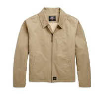 SHERPA LINED CANVAS JACKET