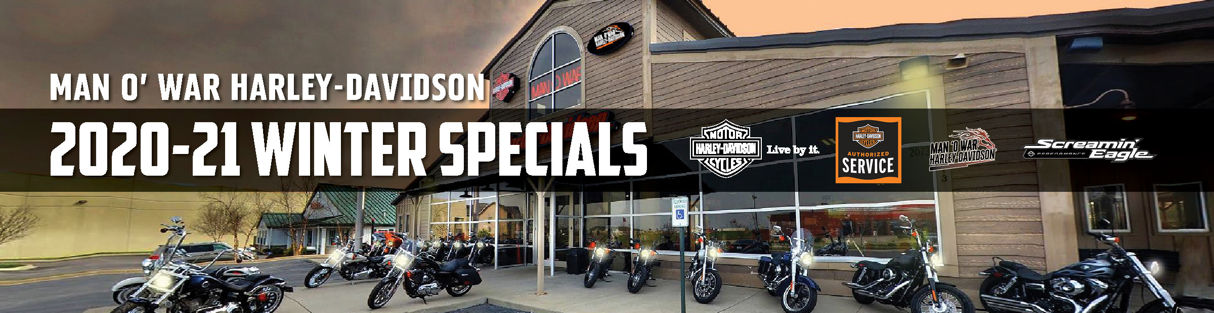 Winter Specials - Man O' War Harley-Davidson
