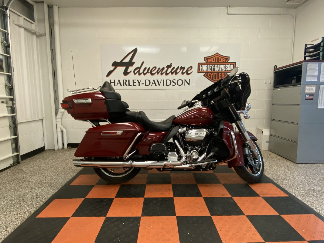 Harley-Davidson<sup>®</sup> Ultra Limited 2020 FLHTK 607629U-ADV STILETTO RED
