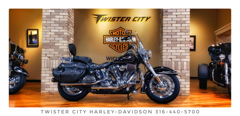 2013 Harley-Davidson® Heritage Softail® Classic : FLSTC103 for sale near Wichita, KS