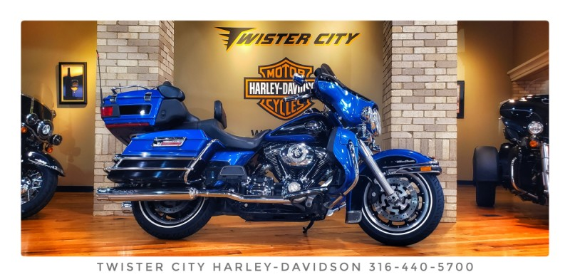 2008 Harley-Davidson® Electra Glide® Ultra Classic® : FLHTCU for sale near Wichita, KS