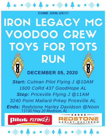 Toys for Tots Bike Run