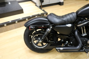 Used Low Mileage 2017 Harley-Davidson® Sportster Iron 883 Matte Black thumb 2
