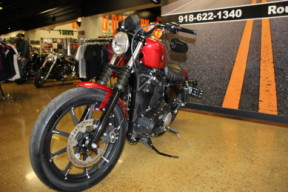 Wicked Red 2019 Harley-Davidson® Iron 883™ XL883N thumb 1