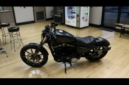 Used Low Mileage 2017 Harley-Davidson® Sportster Iron 883 Matte Black