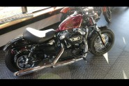 Used Low Mileage 2015 Harley-Davidson® Sportster Forty-Eight XL1200X Hard Candy Custom Color