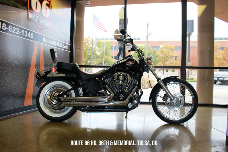 Black 2002 Harley-Davidson® Night Train® FXSTB