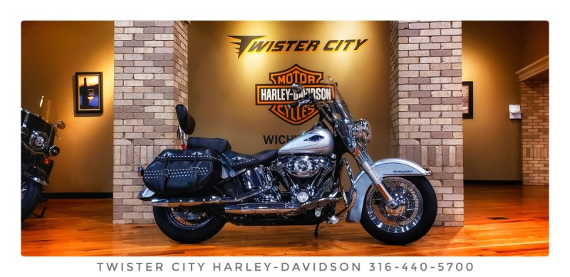 2010 Harley-Davidson® Heritage Softail® Classic : FLSTC for sale near Wichita, KS