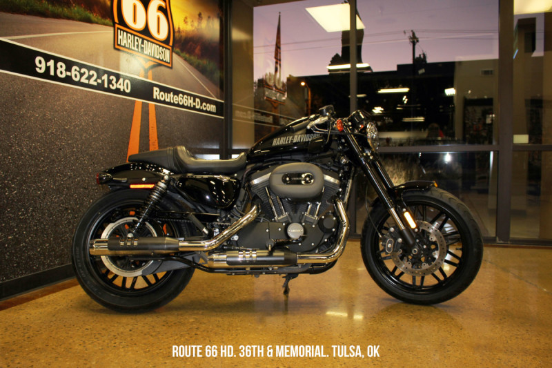 Black 2016 Harley-Davidson® Roadster™ XL1200CX