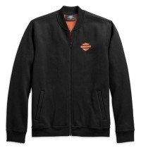 JACKET-FLEECE,BLACK