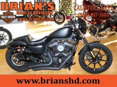 Used Low Mileage 2020 Harley-Davidson® Sportster Iron 883 XL883N