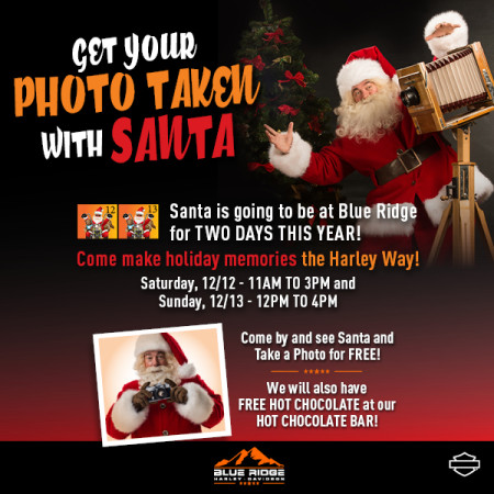 Take Your Photo with Santa!