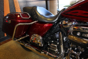 Hard Candy Hot Rod Red Flake 2017 Harley-Davidson® Road King® FLHR thumb 1