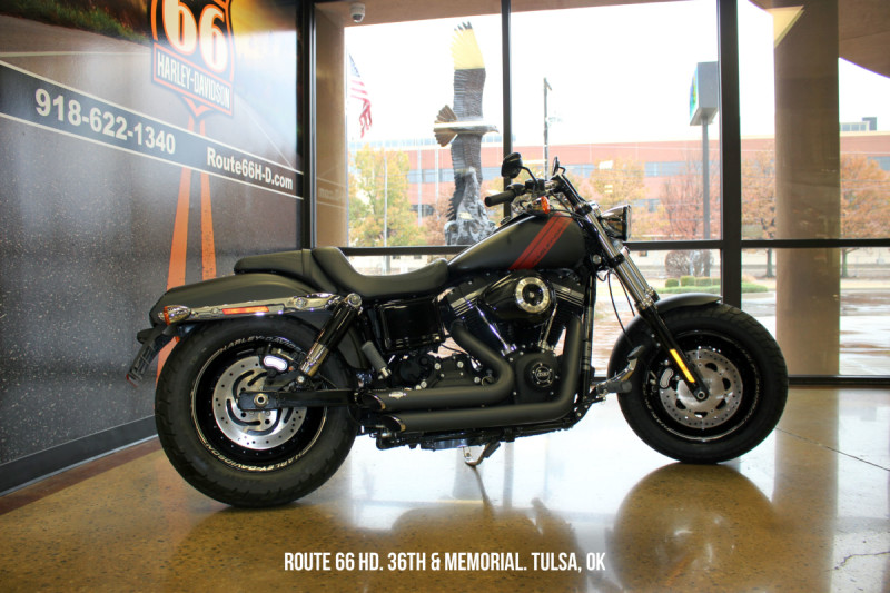 Black Denim 2014 Harley-Davidson® Fat Bob® FXDF103
