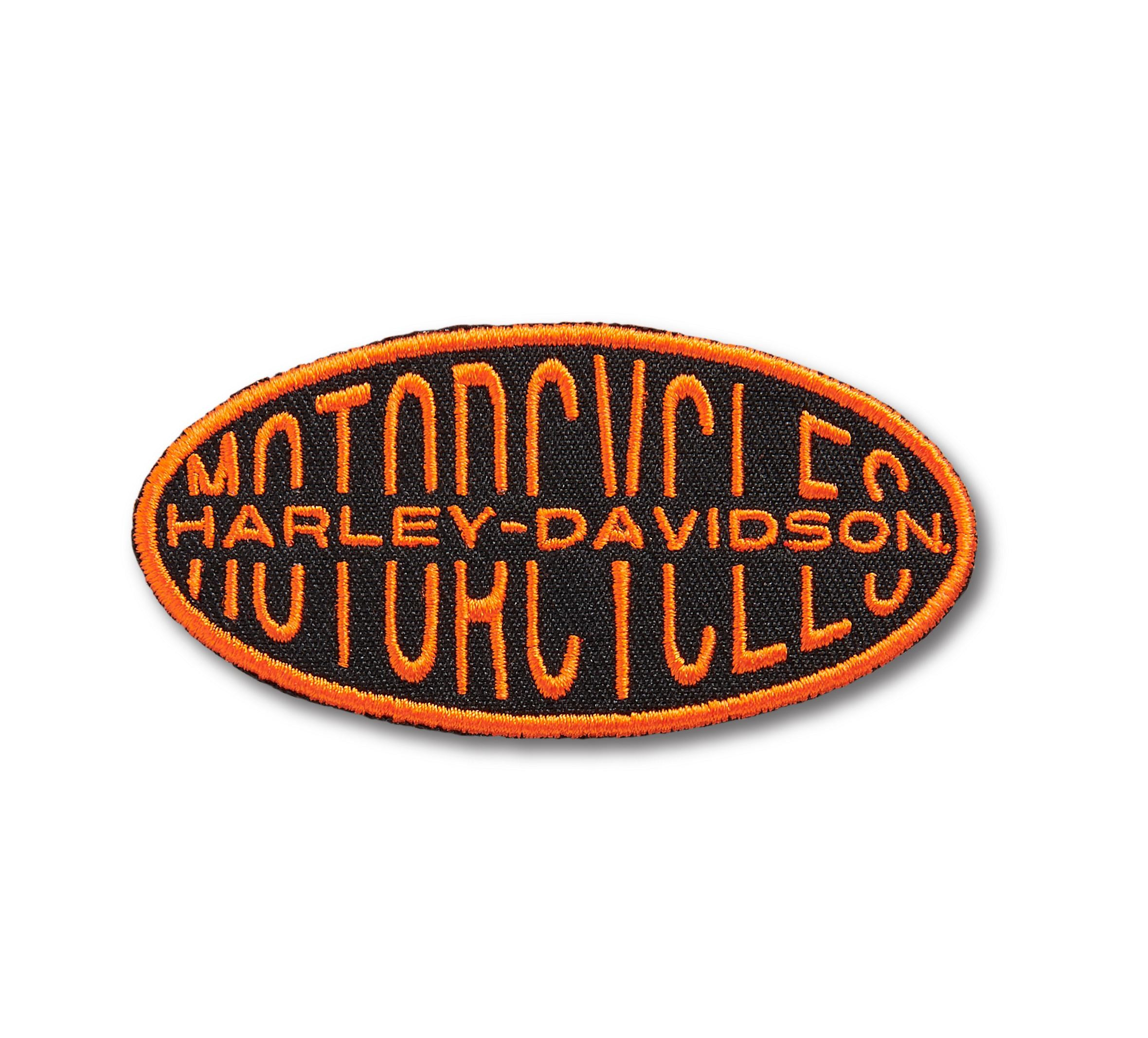 Oval Lock-up Iron-On Patch