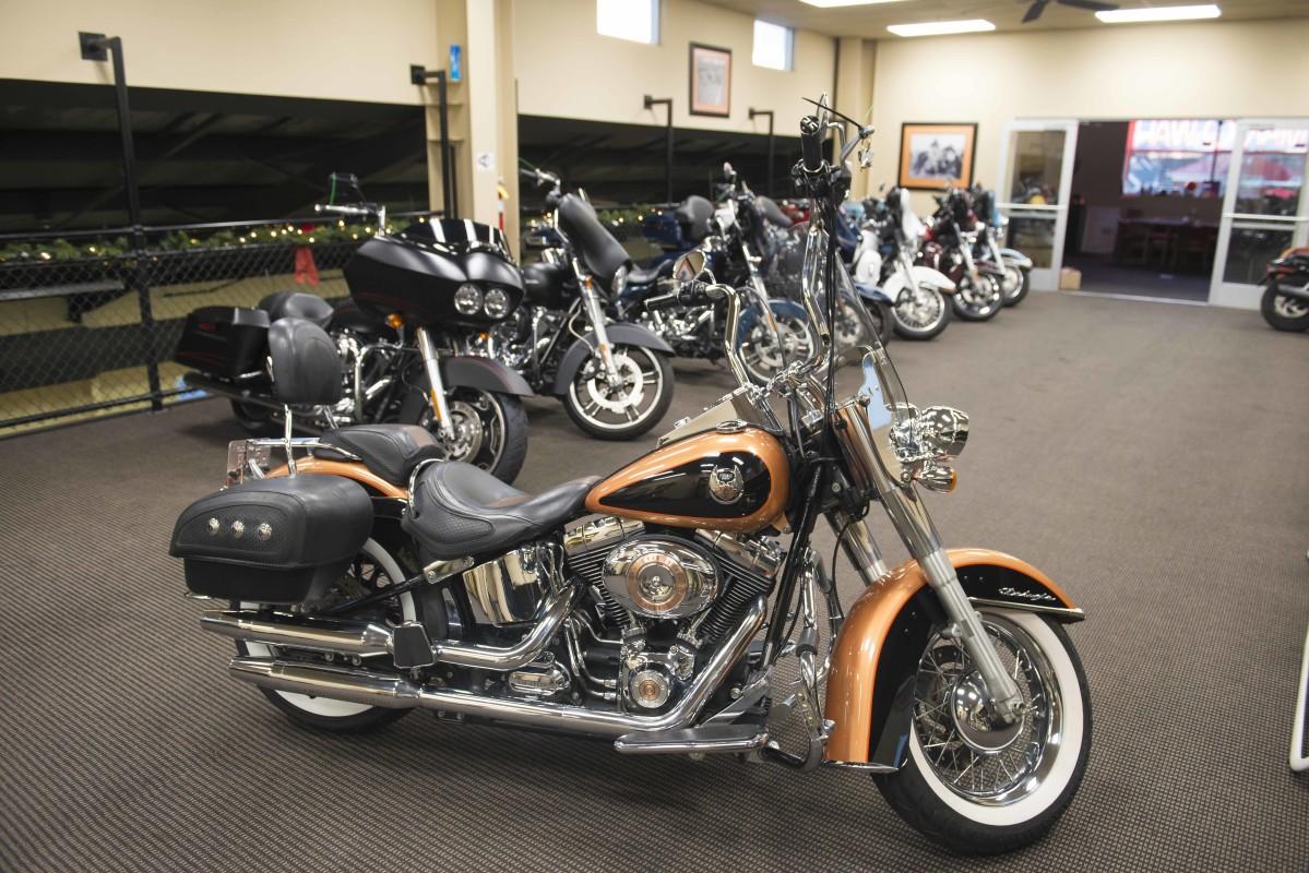 2008 Harley Davidson Softail Deluxe Flstn Man O War Harley Davidson