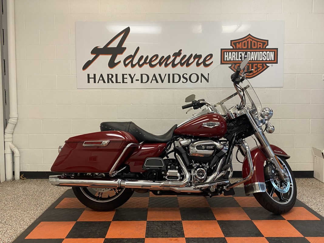 Harley-Davidson<sup>®</sup> Road King<sup>®</sup> 2020 FLHR 631024U-ADV BILLIARD RED