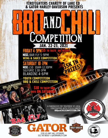 8th BBQ & Chili Competition (Firefighter Charity)