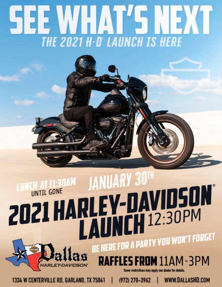 2021 NEW HARLEY-DAVIDSON LIVE REVEAL PARTY