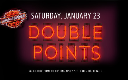 Iron Eagle Harley-Davidson® Double Points Day
