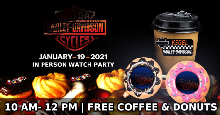 Harley-Davidson Model Year 2021 In Person Watch Party