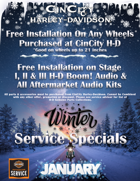 January Service Promos