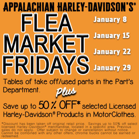 Flea Market Fridays!