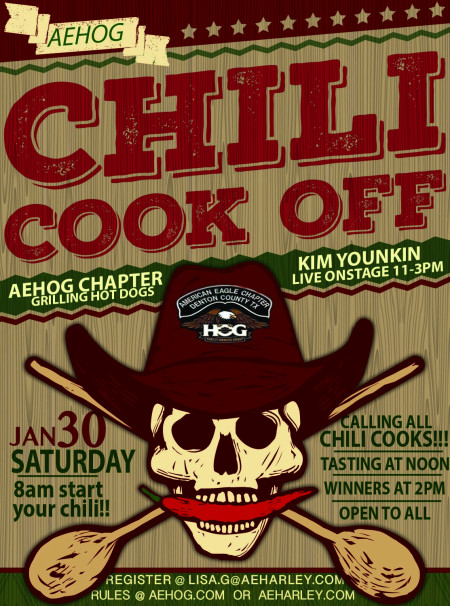 AEHOG Chili Cook-Off