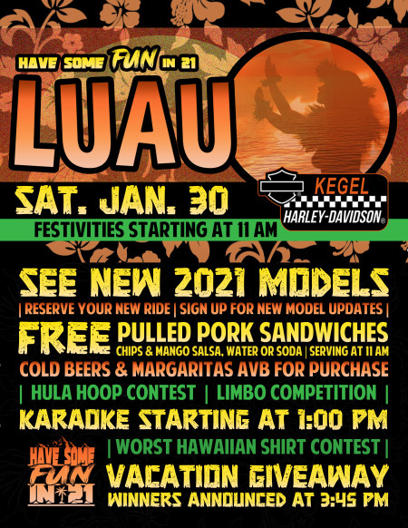 Have Some FUN in 21 Luau