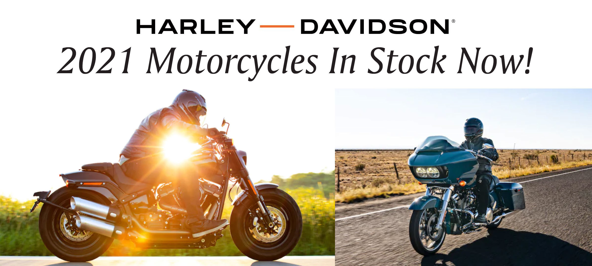 2021 Motorcycles In Stock Now