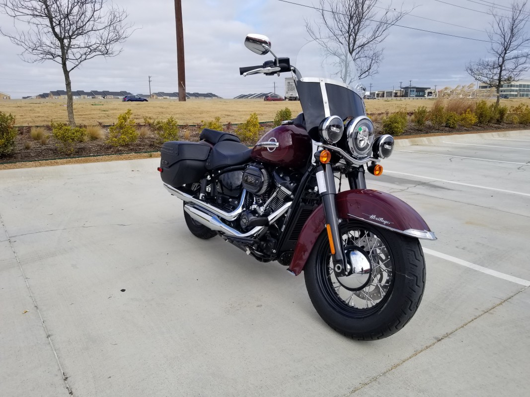 2020 Harley-Davidson<sup>®</sup> Heritage Classic 114 FLHCS