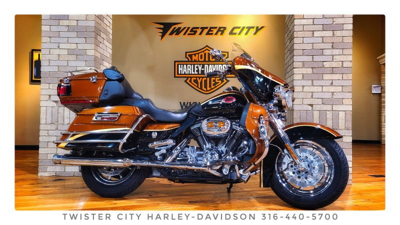 2008 Harley-Davidson® CVO™ Ultra Classic® Electra Glide® : FLHTCUSE3 for sale near Wichita, KS