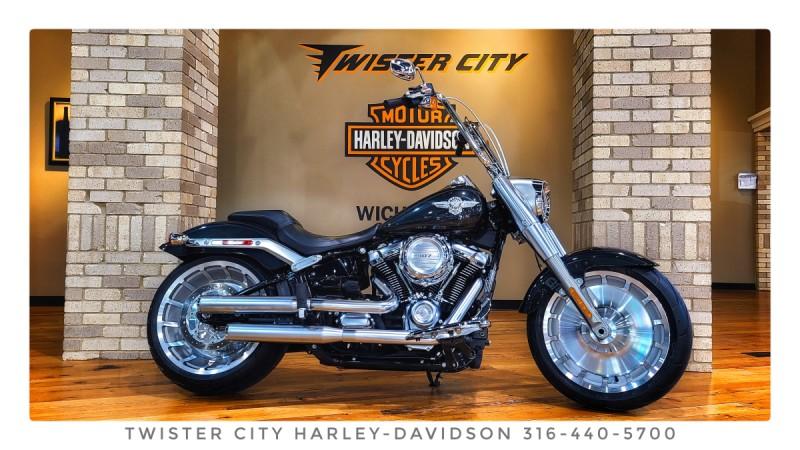 2018 Harley-Davidson® Fat Boy® : FLFB for sale near Wichita, KS
