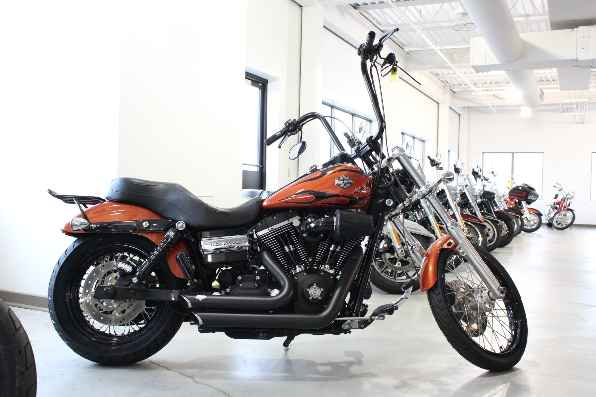 2011 Harley Davidson Wide Glide Fxdwg Used Motorcycle For Sale Sunbury Oh Farrow North Harley Davidson