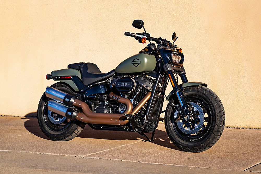 Fat Bob<sup>™</sup> 114 Instagram image 3