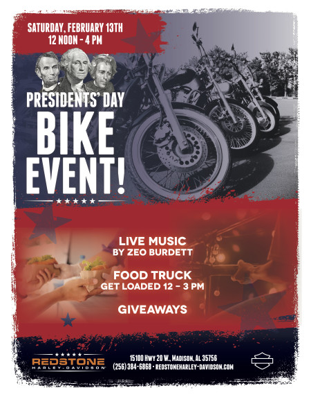 President's Day Bike Event!
