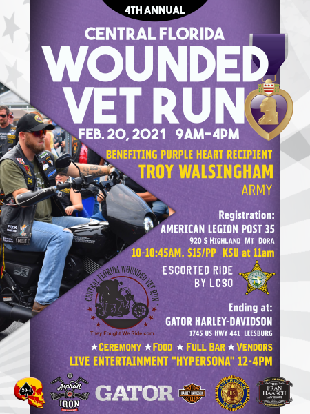 4th Annual Wounded Vet Run