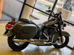 Deadwood Green/Black 2021 Harley-Davidson® Heritage Classic 114 FLHCS thumb 1