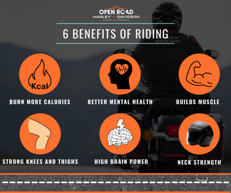 6 Benefits of Riding