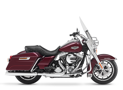 Black 2014 Harley-Davidson® Road King® FLHR