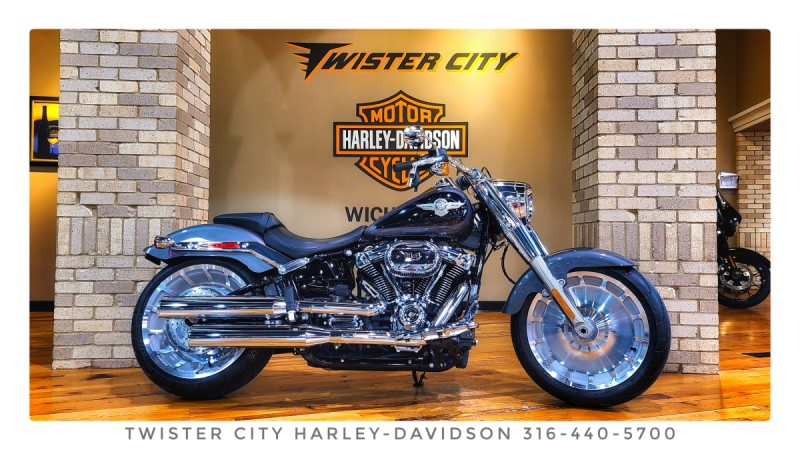 2021 Harley-Davidson® Fat Boy® 114 : FLFBS for sale near Wichita, KS