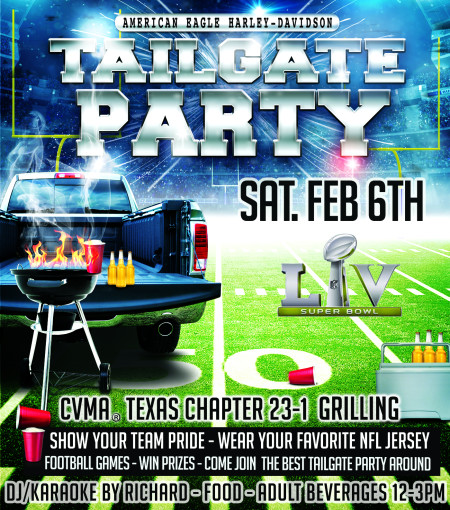 Tailgate Party, American Eagle Style!!