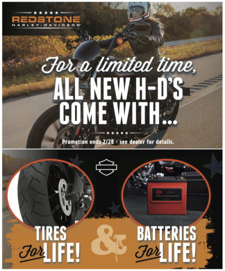 Tires for Life & Batteries for Life!