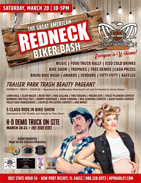 great american redneck biker bash