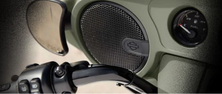 Harley-Davidson Audio powered by Rockford Fosgate
