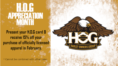 H.O.G Appreciation Month