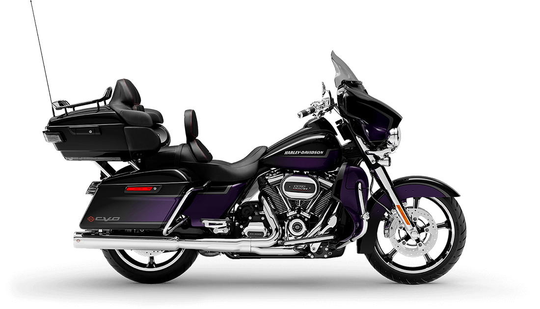 Harley-Davidson<sup>®</sup> CVO™ Limited 2021 FLHTKSE 951921 ROYAL PURPLE FADE & ROYAL B