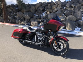 2021 Harley-Davidson® Road Glide® Special Billiard Red / Vivid Black – Black Finish thumb 1