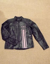 JACKET-TRIPLE VENT,LEATHER,B