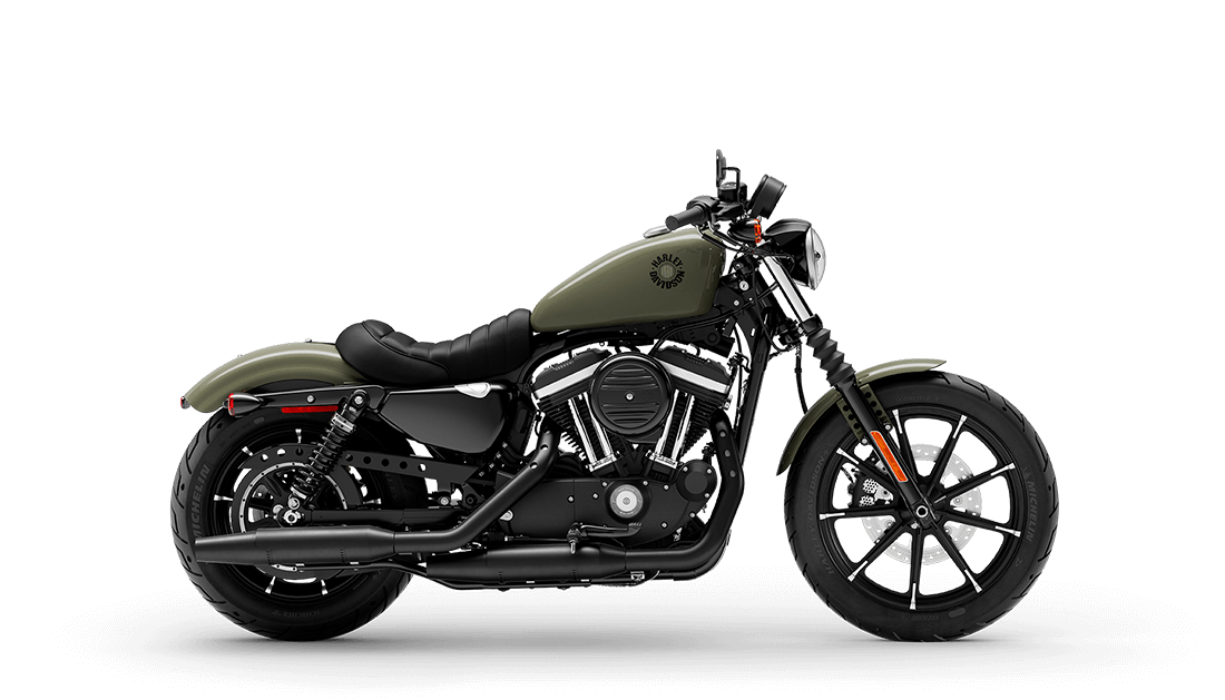 2021 Harley-Davidson® Iron 883™ Deadwood Green